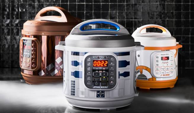 Photo of Instant Pot Star Wars makeover brings R2-D2, Darth Vader, and BB-8