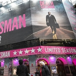 Ceilings in London Theaters Keep Falling Down