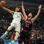 Giannis Antetokounmpo Is Called Amazing. Now in Sign Language, Too.