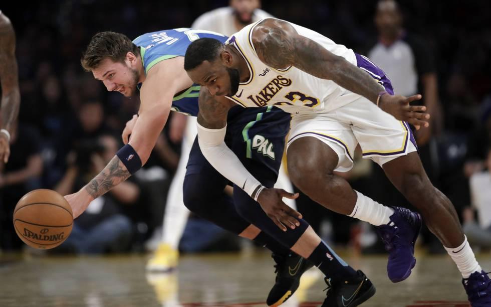 Photo of Doncic y sus Mavericks dan un golpe de autoridad ante los Lakers de Lebron