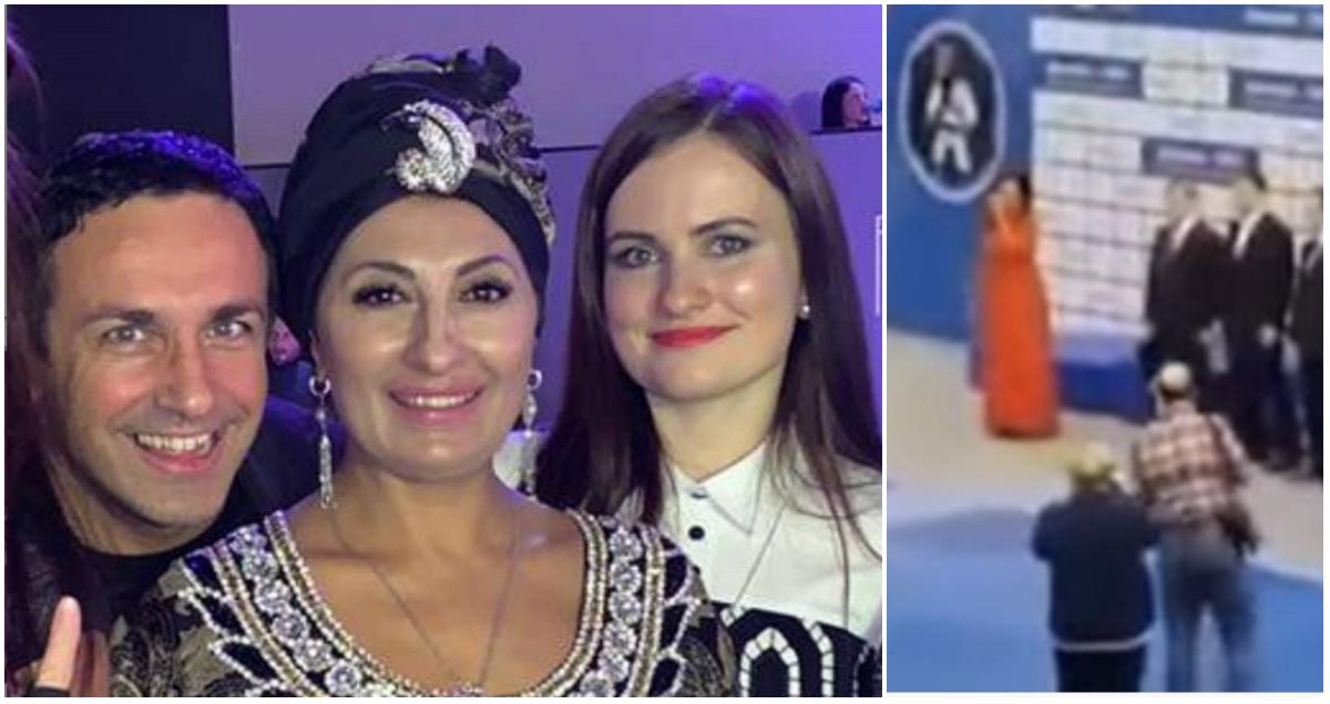 Певица забыла слова гимна РФ на торжественной церемонии и придумала новые