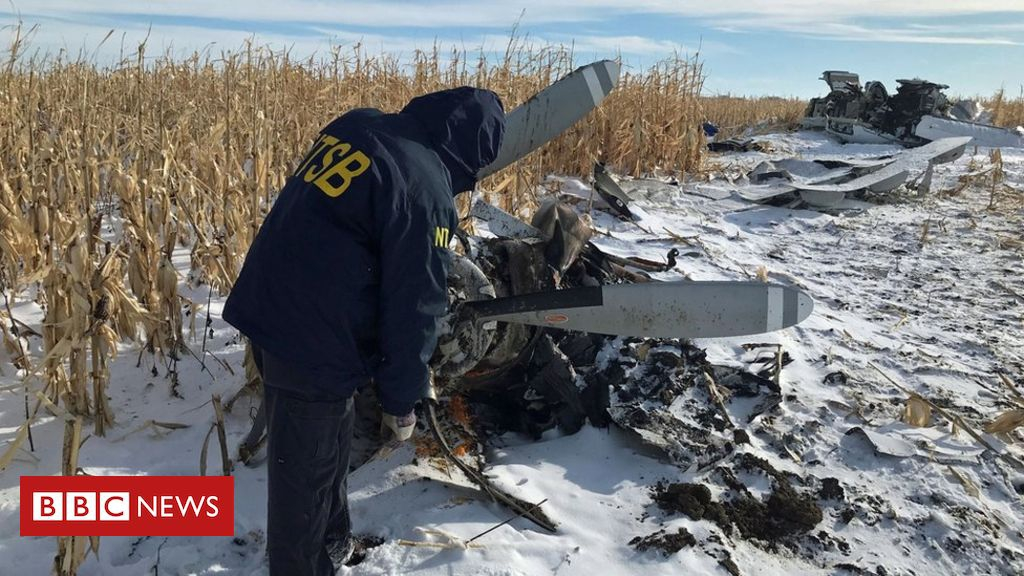 Photo of Four generations of US family die in South Dakota plane crash