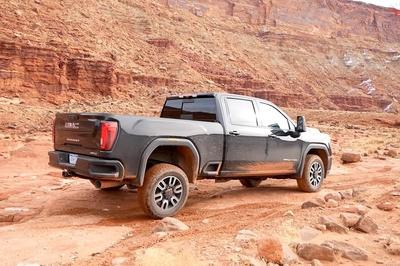 Photo of The 2020 Sierra AT4 Comes With Stronger Off-Road Specs, But Can It Beat The Ram Power Wagon In Its Own Yard?