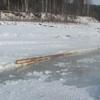 Грузовик обрушил мост в Иркутской области
