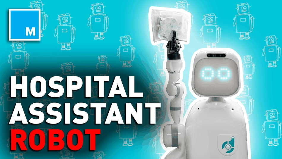 Photo of This robot helps assist hospital staffs — Strictly Robots