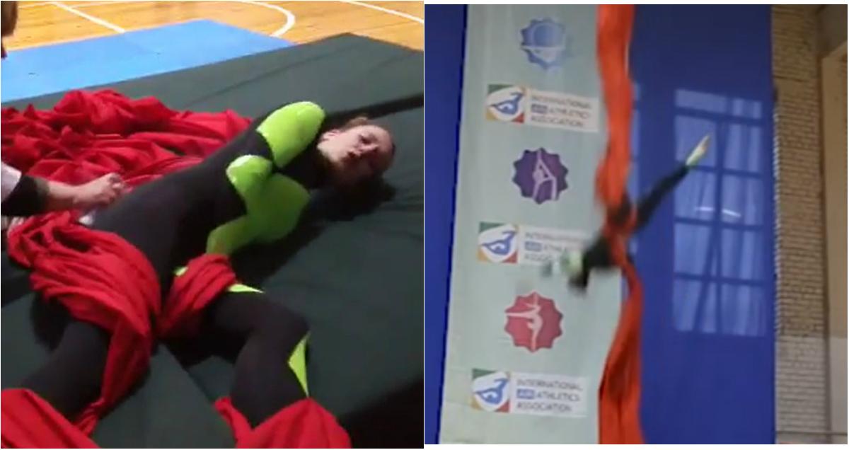 Фото Покалеченной в Риге российской гимнастке срочно собирают помощь