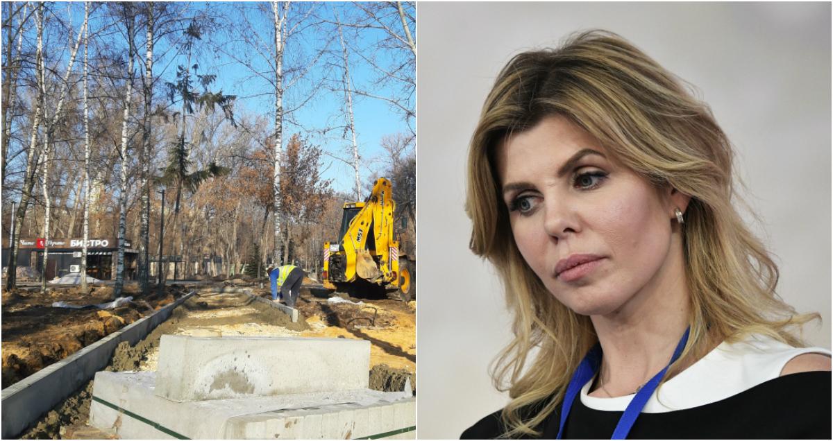 «Это п****ц»: мэр Липецка отругала коллег во время строительства парка