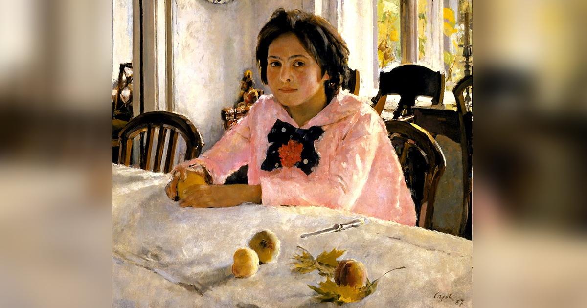 Бедная девочка с персиками. Как сложилась судьба героини с картины Серова