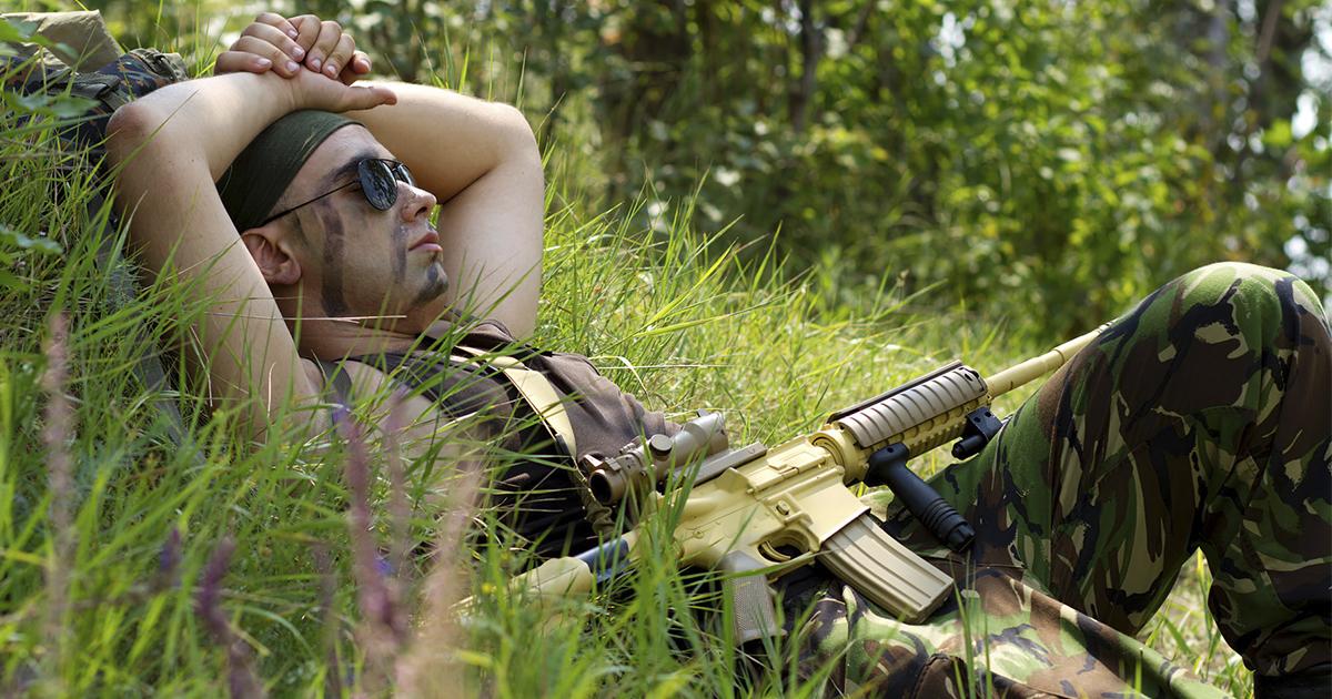 Фото Спецназовец поведал тайную технику 15-минутного сна