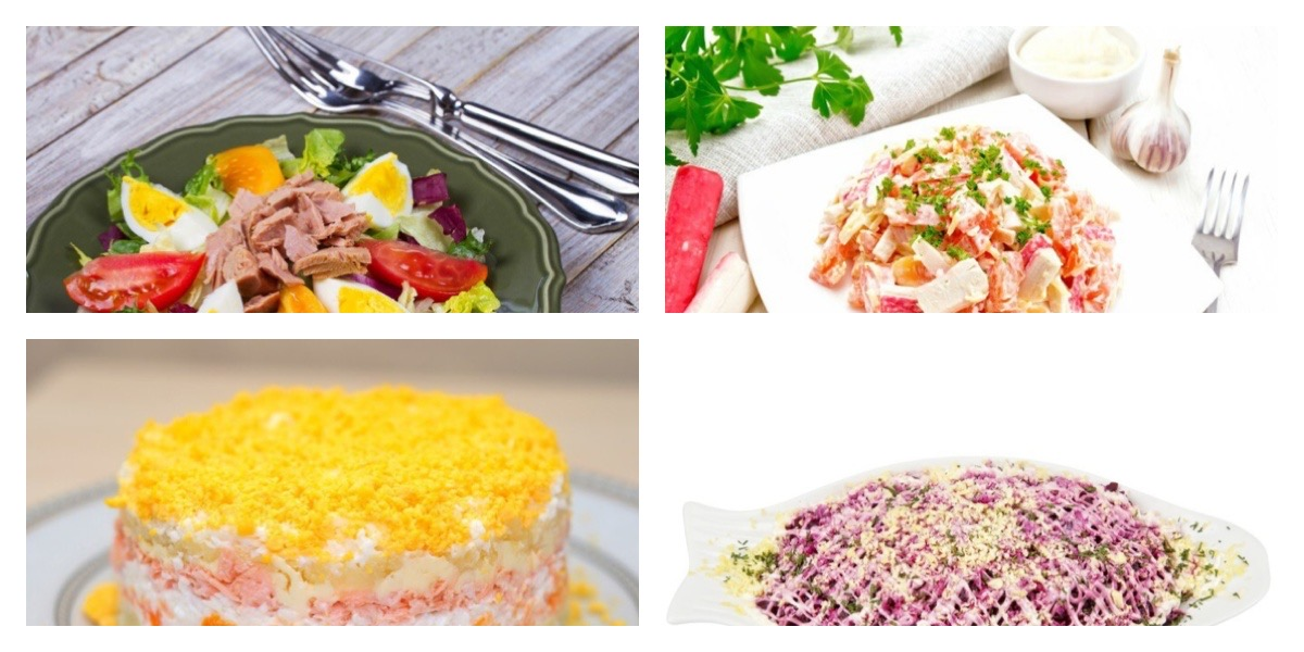 Готовимся к праздникам: ТОП-7 рецептов разнообразных салатов