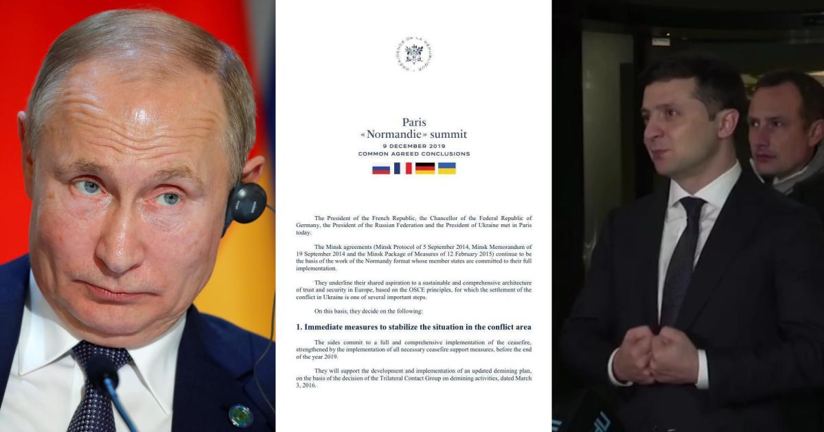 Переговоры и конфузы. Как прошла первая встреча Путина с Зеленским
