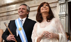 'We're back': Alberto Fernández sworn in as Argentina shifts to the left