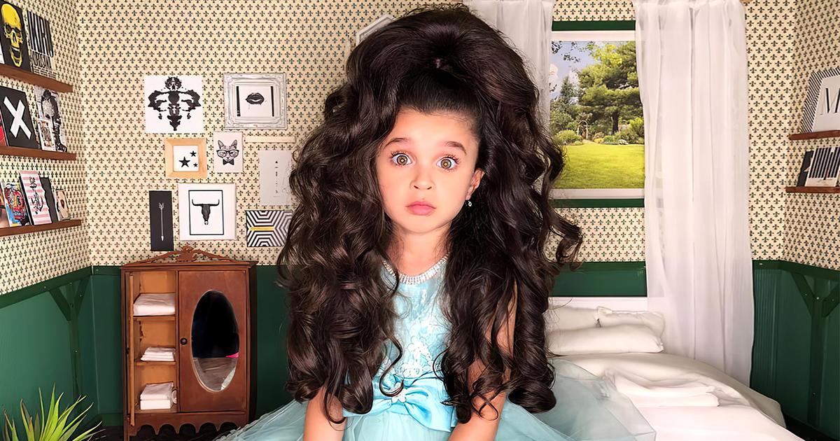 Фото Сложно поверить, что невероятные волосы шестилетней девочки — это не парик