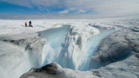 Гренландия начала таять в семь раз быстрее