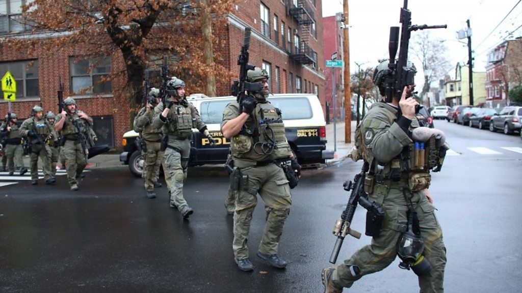 Photo of New Jersey killers 'targeted Jewish supermarket'