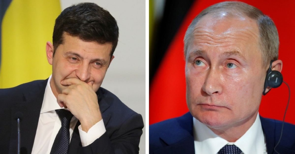 Зеленский шуткой ответил на стишок Путина