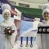 В Красноярске презентовали медали чемпионата России по фигурному катанию