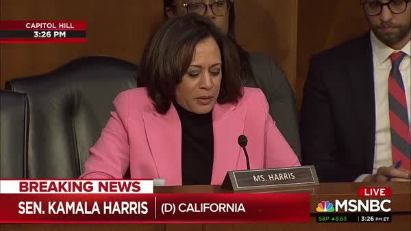 Photo of Kamala Harris Aims Her Truth-Seeking Missiles At Barr And Giuliani
