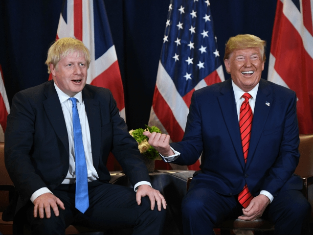 Photo of 'Celebrate Boris!' – Trump Hails UK Election Result, 'Massive New Trade Deal After Brexit'