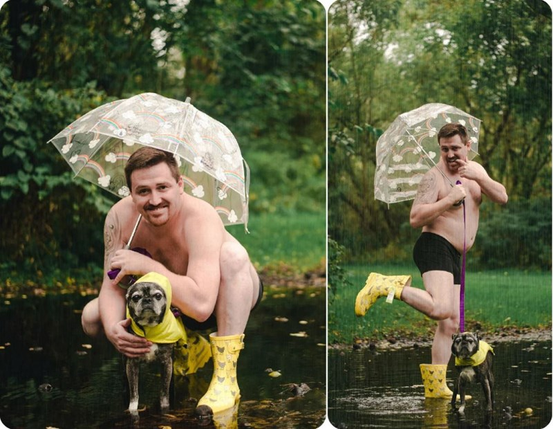 Photo of Dad Bods And Rescue Dogs: The Perfect 2020 Calendar