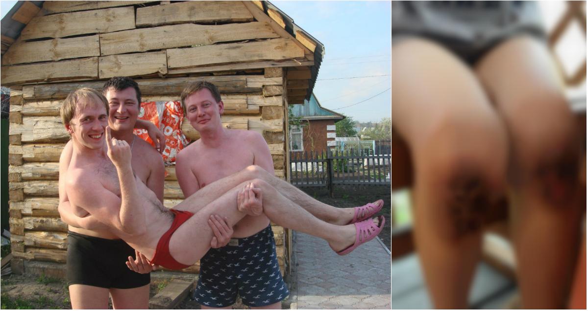 В Сети появились фото отчима, который заставил 9-летнего ребенка стоять на гречке