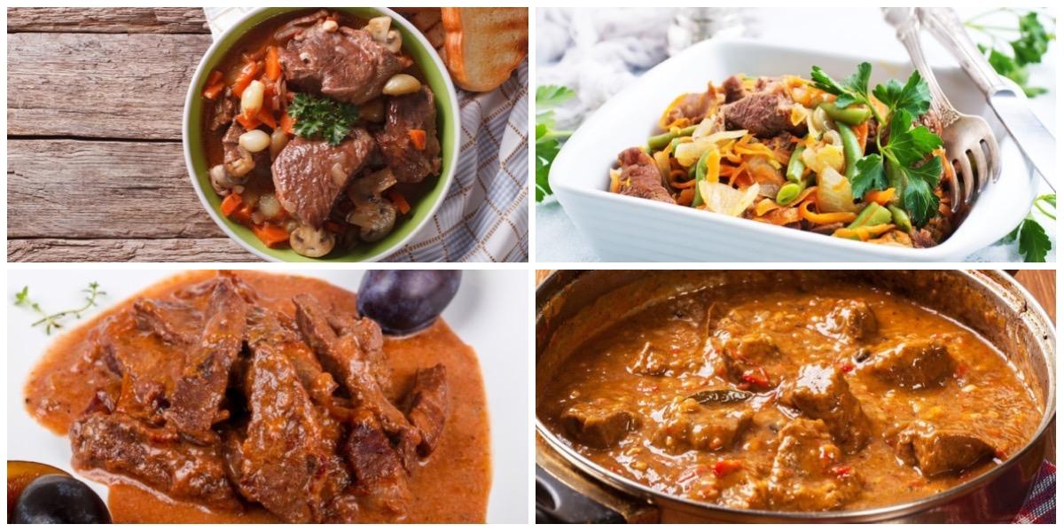 Подборка пикантных блюд из говядины