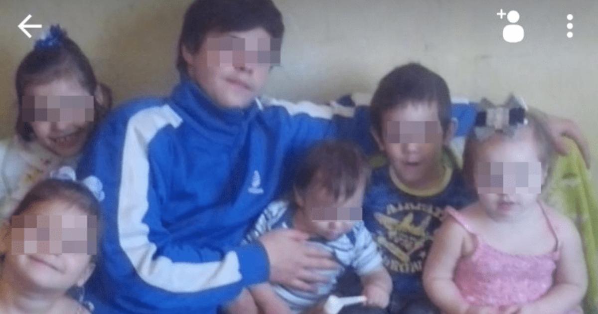 Мать ушла в загул и оставила восьмерых детей подруге