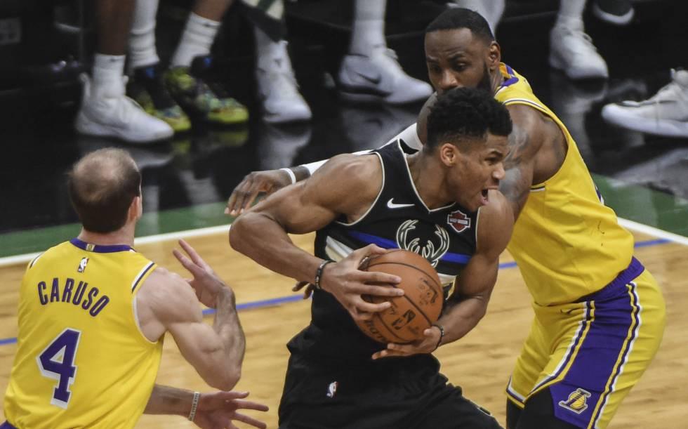 Photo of Exhibición de los Bucks de Anteto en el duelo en la cima ante los Lakers