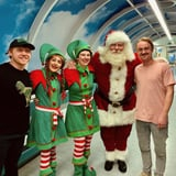 Tom Felton and Rupert Grint Brought Hogwarts Magic to a Children's Hospital For the Holidays