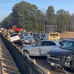 69-Vehicle Pileup on Virginia Highway Injures 51, Police Say