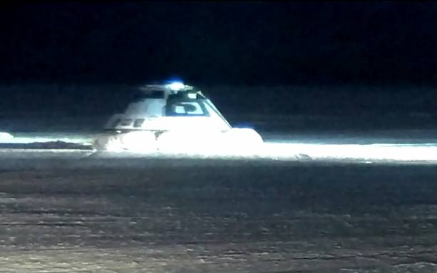 Photo of Boeing Starliner lands safely on the ground after rocky launch