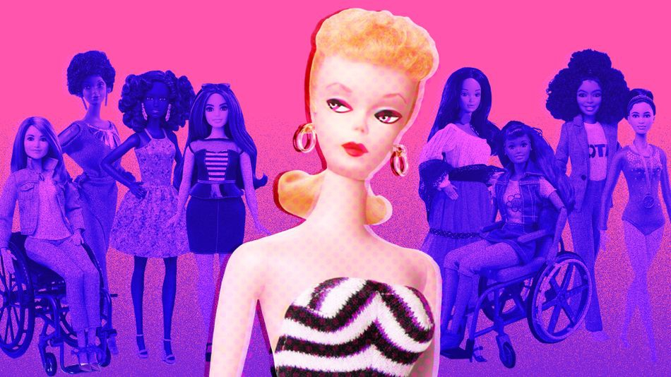 Photo of She's a Barbie Girl, in a new world