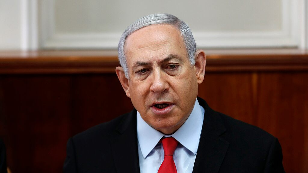 Photo of Netanyahu rushed to bomb shelter after rocket attack on southern Israel