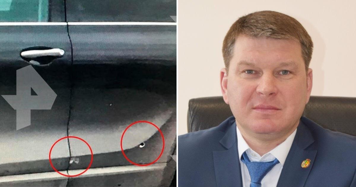 Спасла прохожая. Воронежский чиновник пережил взpыв автомобиля