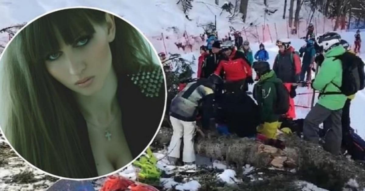 Фото На актрису Сиротенко упала елка в очереди на подъемнике в Сочи