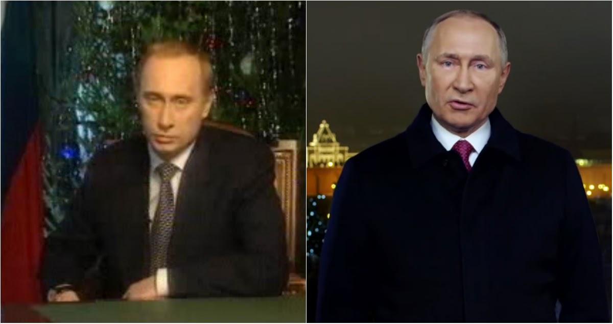 Уже не тот? Как изменился Путин за 20 лет: хроника новогодних обращений