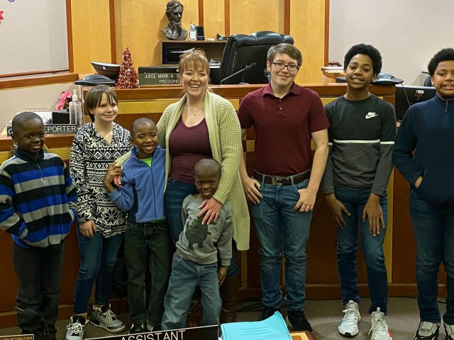 Photo of Wisconsin Foster Mom with Two Biological Children Adopts Six Boys