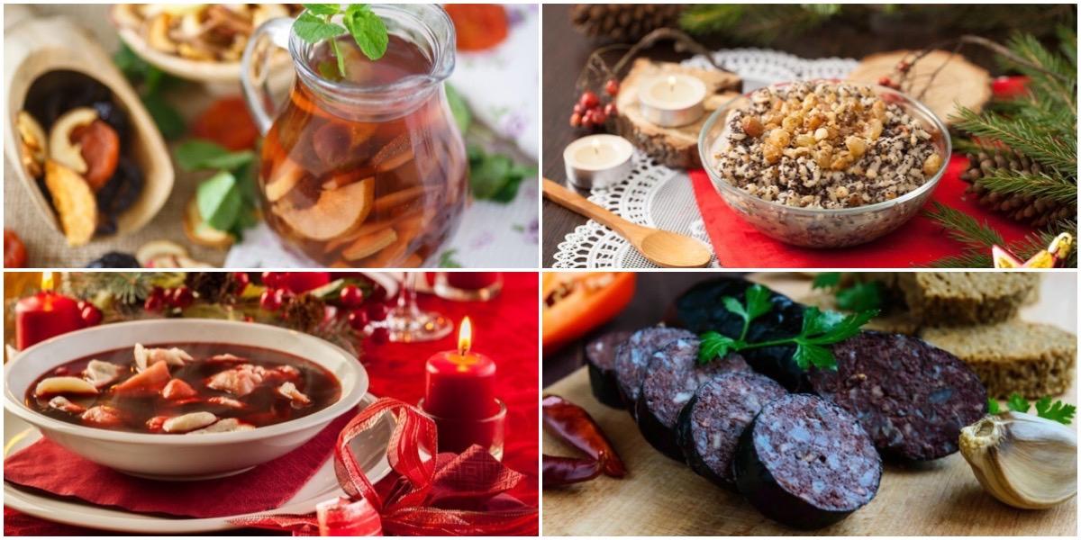 Подборка разнообразных блюд на рождественские праздники