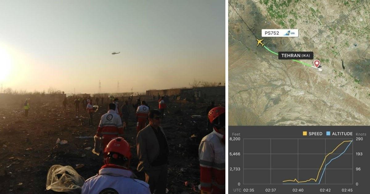 Крушение украинского «Боинга»: иранские власти ответили на версию о ракете