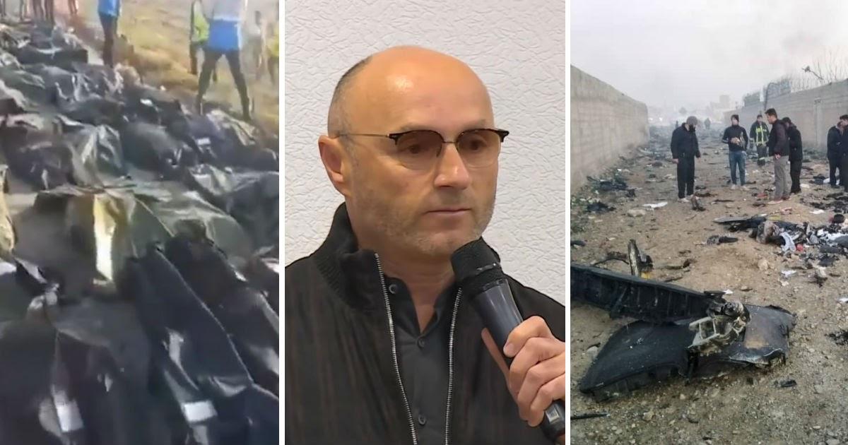 """Фото Глава авиакомпании расплакался, говоря о крушении украинского """"Боинга"""""""