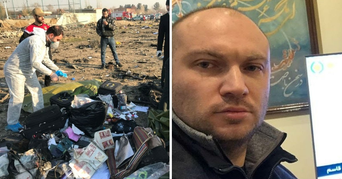 """Фото Украинец рассказал, как чудом не полетел на рухнувшем в Иране """"Боинге"""""""