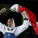 Iran's Only Female Olympic Medalist Defects Over 'Lies' and 'Injustice'