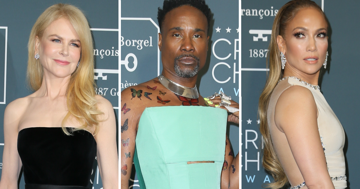 Фото Сходят с ума? Платья женщин и мужчин на церемонии Critics' Choice Awards