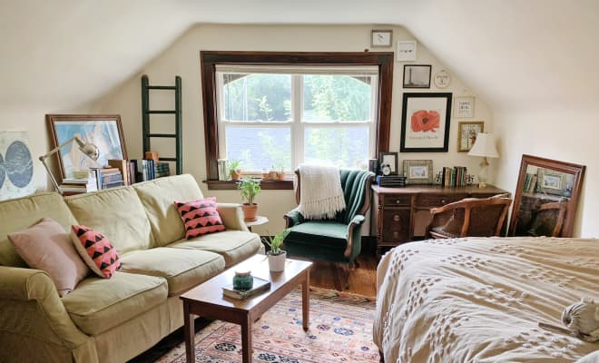 Photo of A Petite Apartment Shows How to Make a Small Space Cute Without Spending a Ton