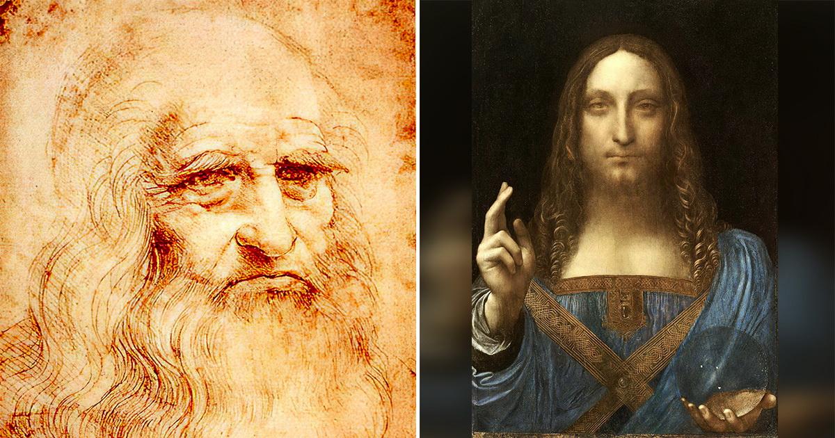 Фото Ученые раскрыли загадку самой дорогой картины Леонардо да Винчи