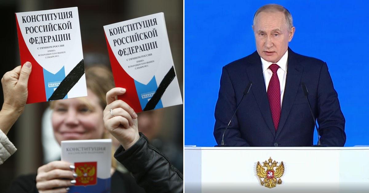 Поправки в Конституцию РФ: как их вносят, какие есть, что предложил Путин