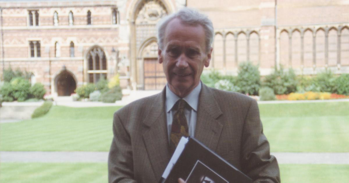 Photo of Christopher Tolkien, J.R.R. Tolkien's son, has died at 95