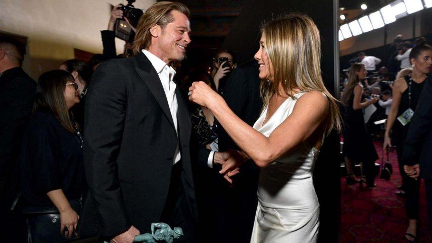 Photo of Jennifer Aniston descreve como 'doce' gesto de Brad Pitt no SAG Awards