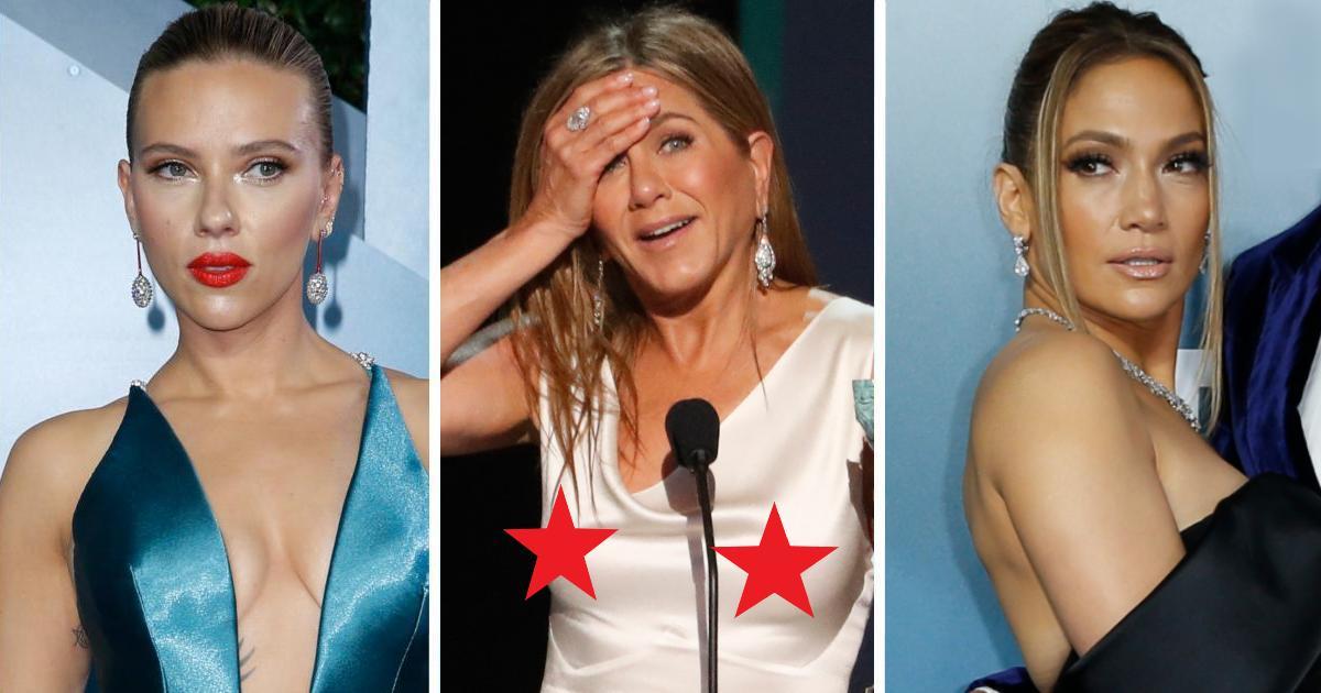Фото Лучше б голыми вышли. Платья звёзд на SAG Awards 2020