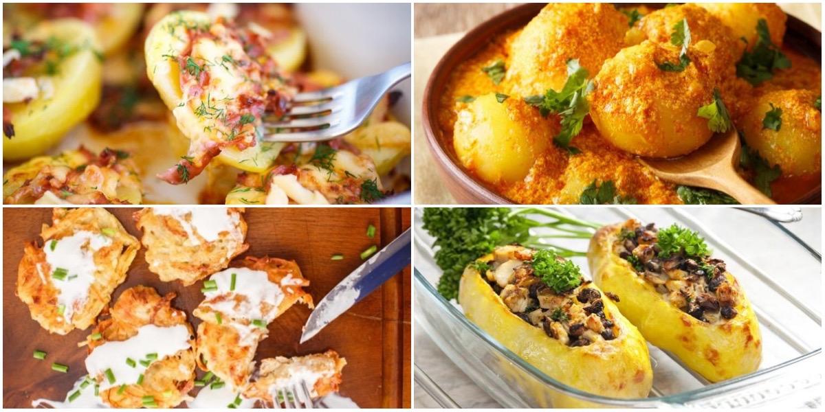 ТОП-7 вариантов блюд из картофеля